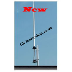 NEW, Thunderpole 5, fiberglass base station cb antenna.